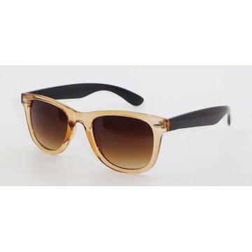 Gafas de sol de moda de plástico para hombres