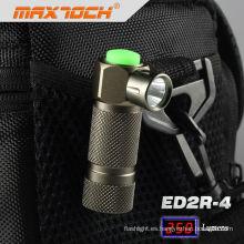 Maxtoch ED2R-4 brillante antorcha potente linterna recargable pequeño