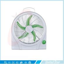 Venta caliente 2015 10′′ DC eléctrica de plástico caja ventilador