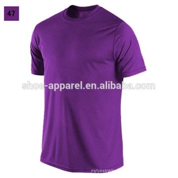 T-shirt personnalisé de t-shirt de coton d'hommes t-shirt imprimé