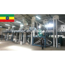 usine de nettoyage de graines de sésame
