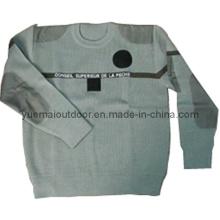 Военный свитер в хаки с высоким качеством