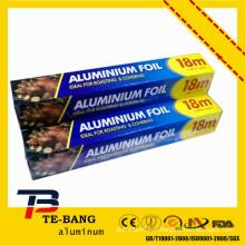 Enveloppement en aluminium au chocolat
