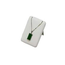 Rechteck MDF PU Schmuck Anhänger Halskette Display (PN-RG-WL-M)