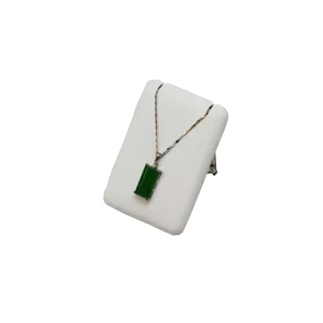 Rectangle MDF PU Jewelry Pendant Necklace Display (PN-RG-WL-M)