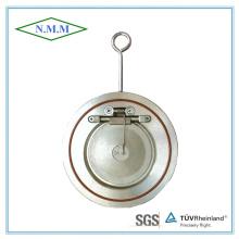 Válvula de retenção de disco único tipo disco com mola