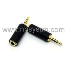 2.5mm 4-pole male to 3.5mm female adapter AD-52