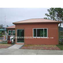 Materiales de construcción al aire libre de WPC del material de construcción de la pared de la casa al aire libre