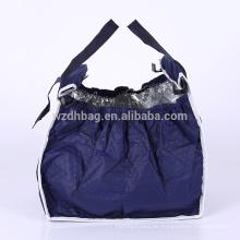 Faltbare isolierte nicht gewebte Grab Bag Einkaufstüte Warenkorb Trolley Einkaufstasche