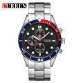 Moda Waterproof Quartz Wrist Watch Men