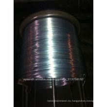 Alambre de acero galvanizado en caliente