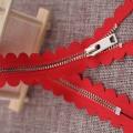 Zíper de metal laciness inteligente de 10 polegadas para saias