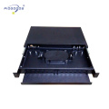 PG-ODF2042 19inch rack mounted pull-out optic fiber terminal box.12-96cores capacity,metal material