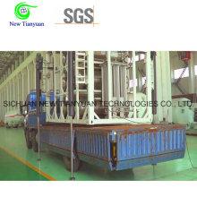 Lco2 197L Capacité utilisable Cylindre à gaz isolé cryogénique pour camion
