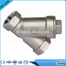 Angle manual y strainer filter valve