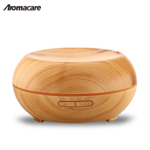 Wood Grain Ultrasonic Cool Mist Aroma Diffuser 200ml Essential Oil Diffuser