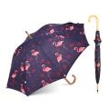 Flamingo nouveaux produits 2018 bonne qualité Heat Transfer Imprimer beau parapluie