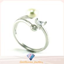 Foctory precio de moda 925 anillo de joyería de plata de ley (R10444)