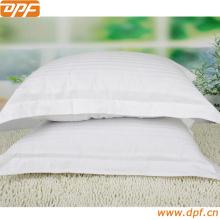 Fronha de linho simples quadrada da moda com fronha para casa capa de almofada decorativa