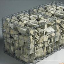 Коробки galfan сварные Габионы Корзина для сохраняя стены