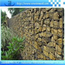 Malla de alambre de Gabion hexagonal resistente al desgaste