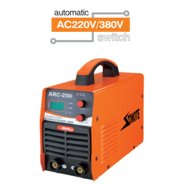 DC inverterARC-250i dual voltage welding machine