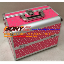 Professionelle Hartaluminium Flight Case Make-up Train Case