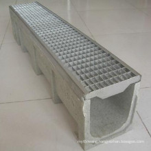 Perforated Stainless Steel Grating Polymer Drainage Channel