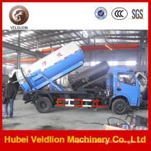 Dongfeng 7 Tonnen Vakuum-Abwasser-Saugwagen (Weilong Pumpe)