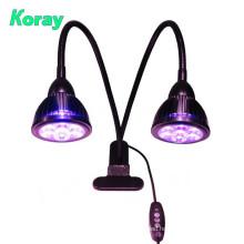 Double Clip 360 Degree led grow light for indoor growth