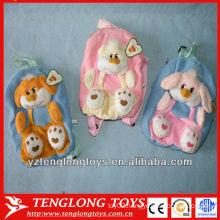 cute design plush kids animal backpack
