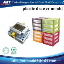Molde de inyección de plástico de almacenamiento de cajón superficial de JMT OEM