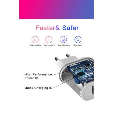 Quick Charge 3.0 Carregador USB Adaptador Dual USB