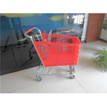 American Style Plastic Shopping Cart