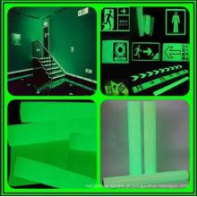Filme fotoluminescente, filme luminescente, fita de filme luminescente de alta qualidade