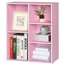 Cabinet en bois, étagère de livres