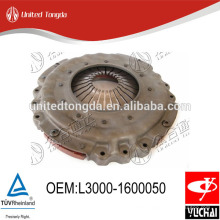 Original EQ430 Yuchai engine clutch cover L3000-1600050 for Chinese truck