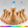 Aromacare 400ml Free Sample Ultrasonic Wood Grain Aromatherapy humidificador difusor