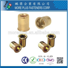 Made in Taiwan Brass Blind Rivet Nut