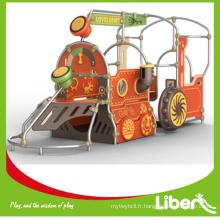 Train Design PE Aire de jeux extérieure LE.PE.008