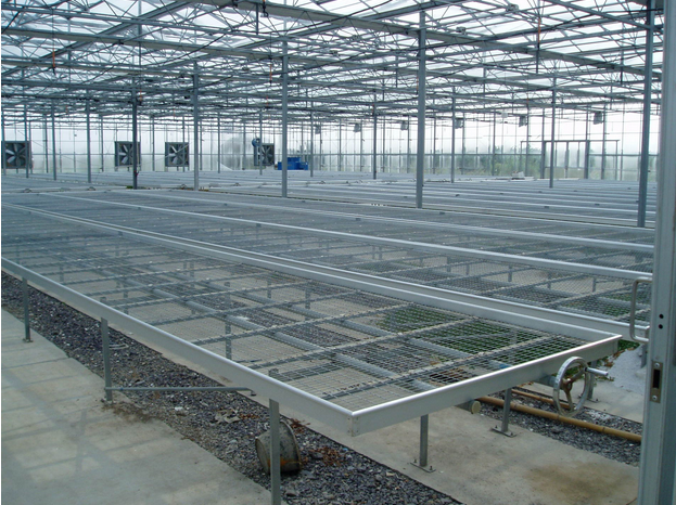 Pertanian Bench rolling bench For Greenhouse