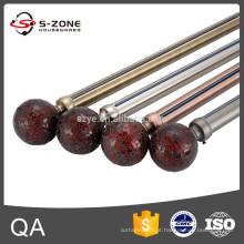 202 tubo de cortina de aço inoxidável para decoração de casa