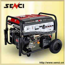 Venta caliente 50 / 60Hz Fabricantes Gasolina Generador de energía