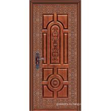Стальная дверь с одним листом (WX-S-183)