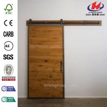 36 in. X 84 in. Knotty Alder 1 Panneau de sablage Flat Solid Wood Intérieur Garniture de grange à la grange Qualité Assurée