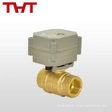 Válvula de retenção de regulação do fluxo de controle elétrico / válvula de contagem de água / vapor