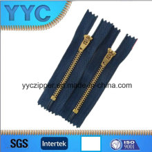 Fast Moving Y Teeth Jeans Zipper Metal Zipper for Jeans