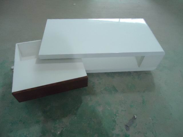 MDF wood coffee table