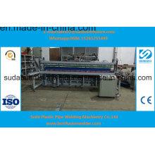 * Máquina de dobra da folha Zw4000 plástica com comprimento de 4000mm