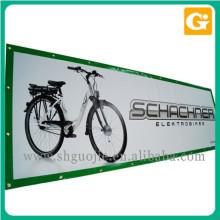 Publicidade de banners de bicicleta